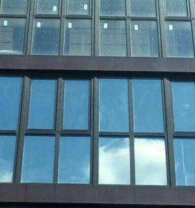 Тонирование окон, балконов, лоджий