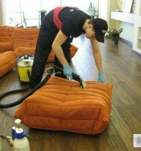 Химчистка мебели.