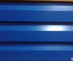 Сайдинг фасадный синий