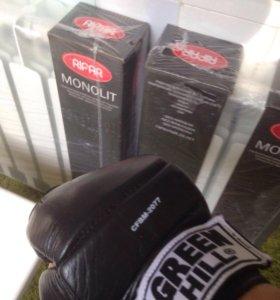 Перчатки для MMA GREEN HILL.