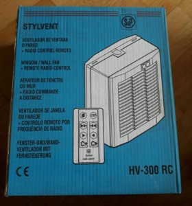 Вентилятор оконно-настенный SOLER&PALAU HV 300 RC
