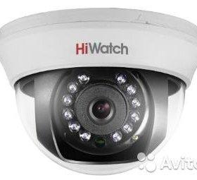 Купольная камера HiWatch DS-T101 1,0 Mpix HD-TV1