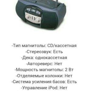 Магнитола бумбокс Samsung rcd-390