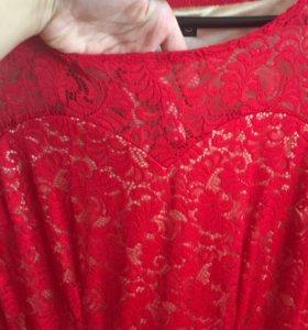 Платье в пол кружево