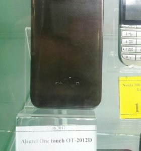 ALCATEL ONE TOUCH OT-2012D