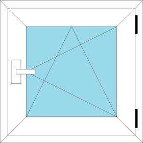 окно REHAU SIB design 820*1160
