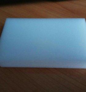 Меламиновая губка 10*6*2 см.