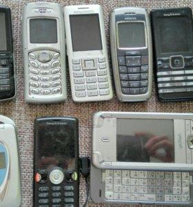 Телефоны исправные и на запчасти