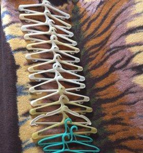 Вешалки, плечики для одежды, 16 шт