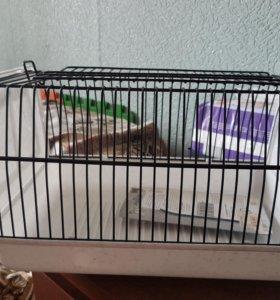 Переноска для грызунов/птиц + когте-клюво резка
