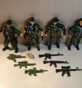Пластиковые солдатики