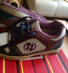 Роликовые кроссовки Heeles