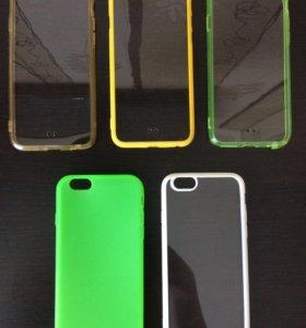 НОВЫЕ  чехлы на IPhone 6.