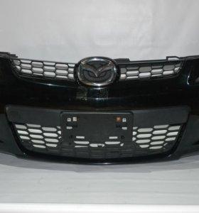 Бампер БУ Mazda CX 7 2007-2012 оригинал