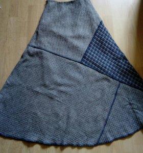 Новая шерстяная юбка 40-42
