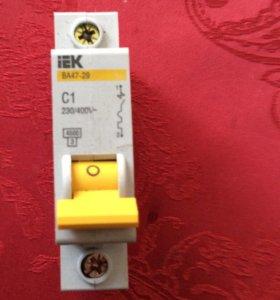 Автоматический выключатель 1 А