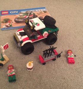 Гоночный джип Лего