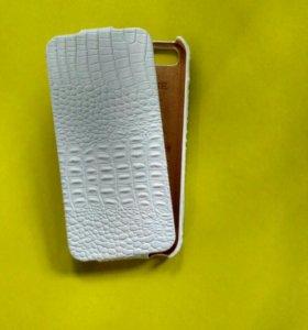 Кожаный чехол под iphone 5s