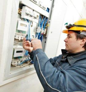 Услуги электромонтажа, ремонт проводки