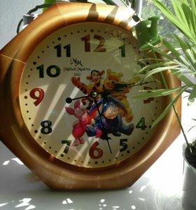 Часы настенные бесшумные детские