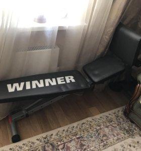 Скамья для пресса гимнастическая Winner