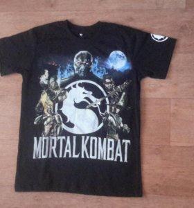 Футболка с атрибутикой Mortal Combat