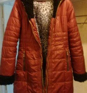 Куртка зимняя размер 48.