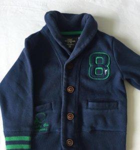 Кофта-пиджак на мальчика. 1-2 года👕