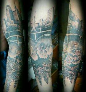 Домашняя студия художественной татуировки