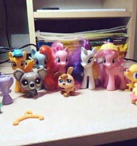 My little pony и LPS