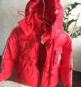 Зимняя куртка и зимние штаны