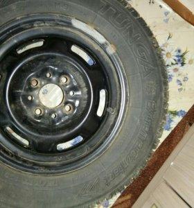 Зимние колеса на ВАЗ