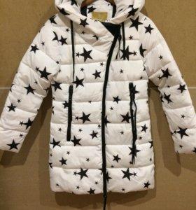 Новая куртка на тёплую зиму.