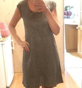 Платье шерстяное 48-52