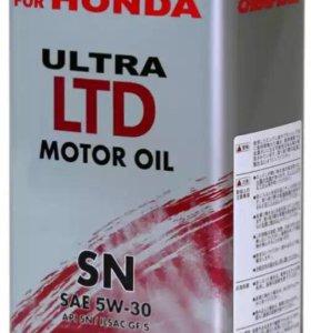 Моторное масло HONDA 5w-30 4л.