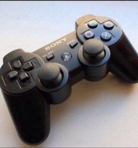 Геймпад для Sony PS3 беспроводной.