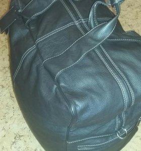 Samsonite кожаная дорожная сумка большая
