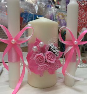Свечи на свадьбу