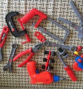Игрушки набор инструментов