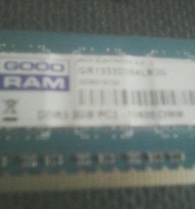 ОЗУ DDR3 2GB PC3