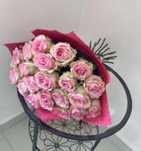 Букет роз цветы