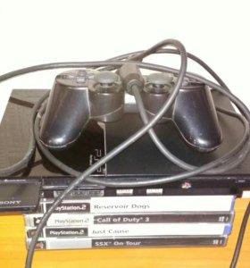 Playstation 2 + psp
