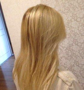 Стрижка и покраска волос