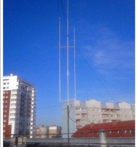 Вертикальная радио КВ-антенна Vilka-3