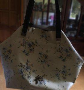 Новая сумка из натуральной кожи ! V.Fabbiano