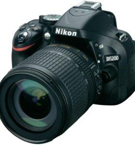 Зеркальная камера Nikon D5200 kit 18-105 VR