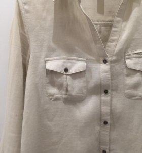 Бизнес-кэжуал рубашка Mango