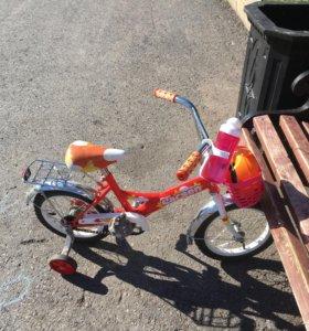 Детский велосипед 🚴 ларсен колёса 14 д