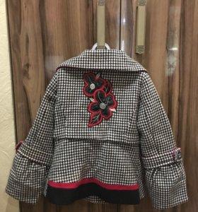 Пальто драп- кашемир для девочек