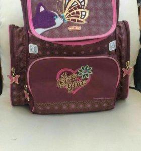 Рюкзак школьный+ мешок для обуви